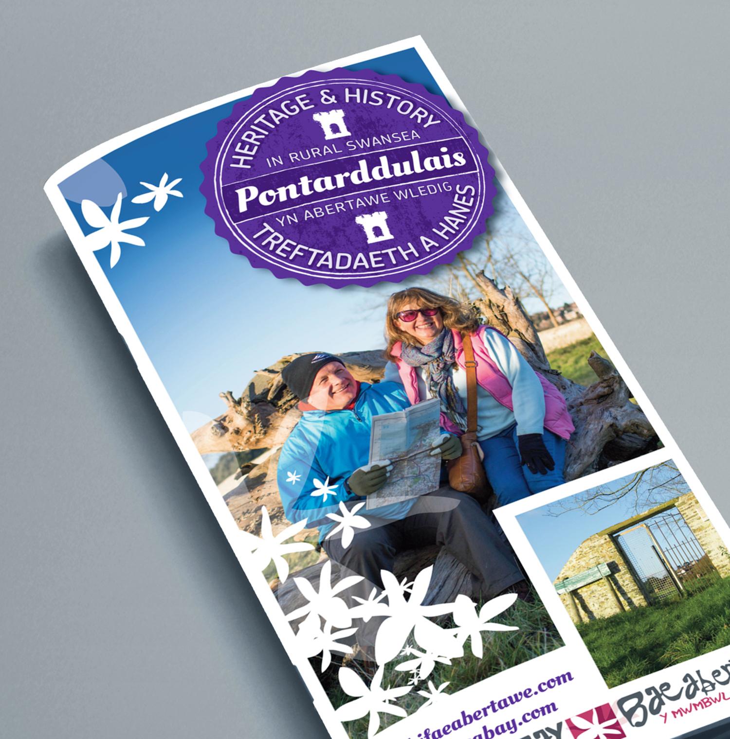 Swansea mawr walk leaflet cover 720