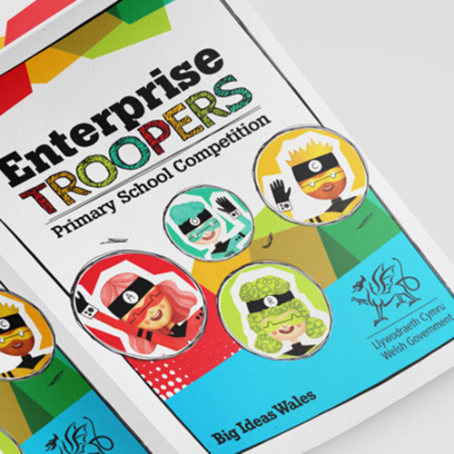 Enterprise Troopers leafet cover 1920