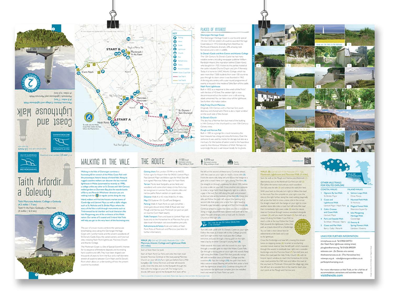 Vale walk leaflets open 2