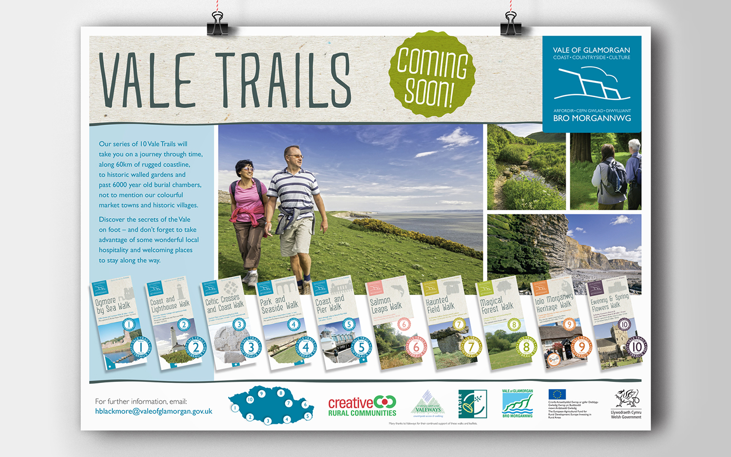 Vale walk poster