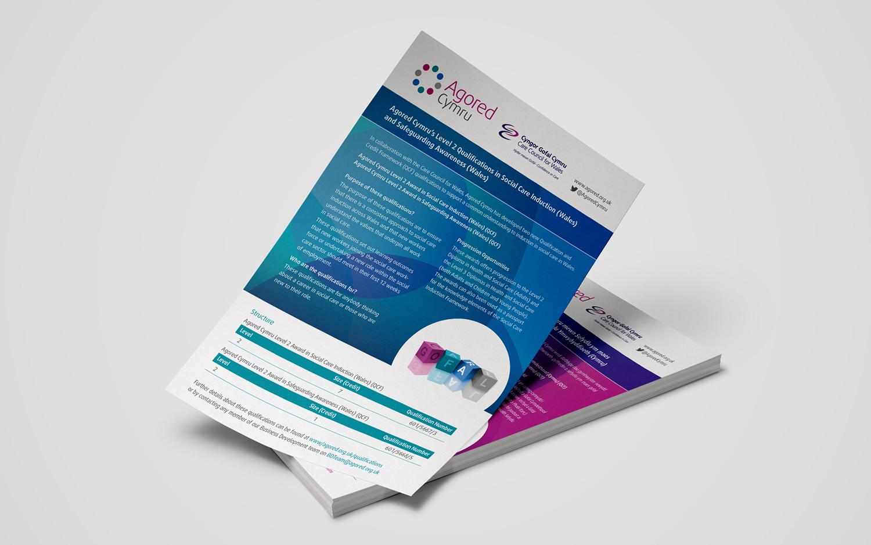 Agored Cymru Promo leaflets1 720