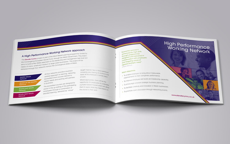 Elevate Cymru booklet spread 720