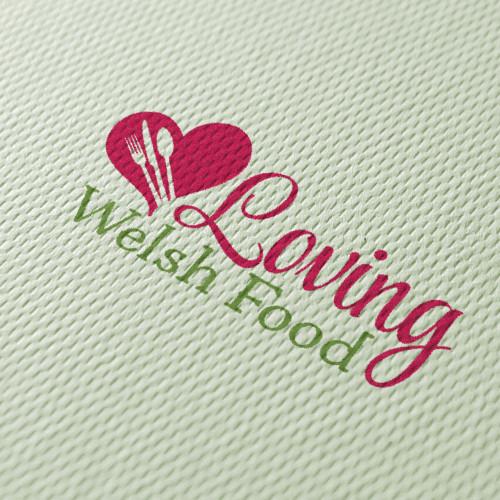 Loving Welsh Food logo texture 720