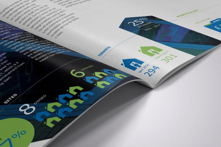 Business in Focus Annual Report Spread 1920x1200