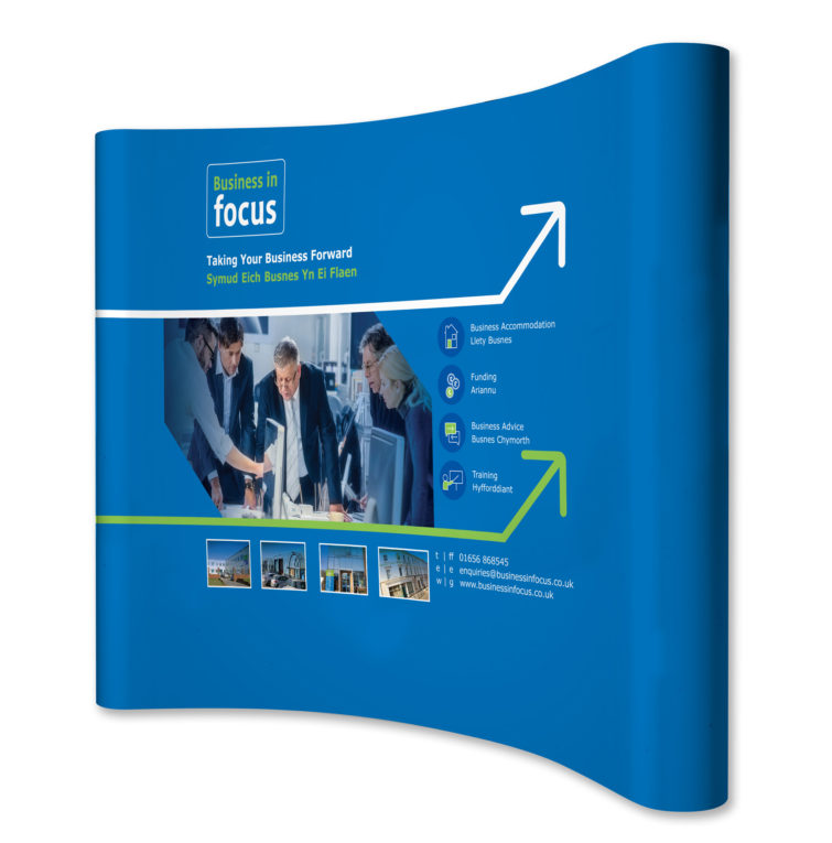 Business in Focus Pop Up Exhibition Stand 1184x1200