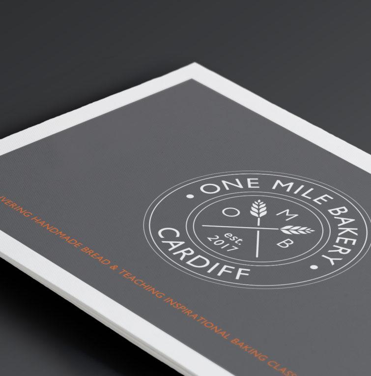 One Mile Bakery postcard 1